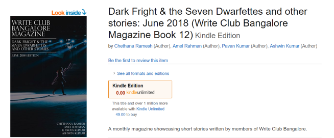 Dark Fright & the Seven Dwarfettes and other stories